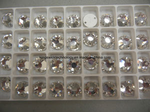 Wholesale High Quality Flatback Foiled Sew on Rhinestones (SOR22) pictures & photos