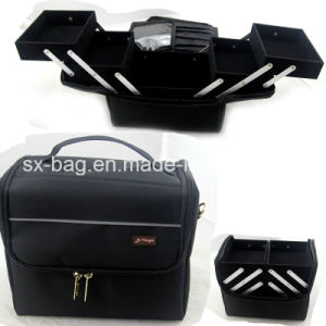Professional Cosmetic Case with Handle