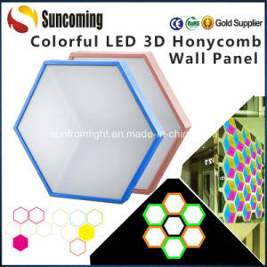 DIY Design RGB 3D LED Disco Club Stair Wall Light pictures & photos