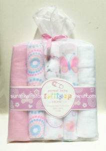 Baby Diaper 100% Cotton Comfortable and Soft Reusable Muslin pictures & photos
