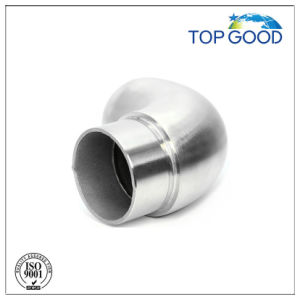 Stainless Steel Round End Elbow Tube Connector pictures & photos