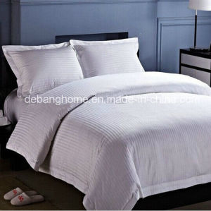 2014 New Design Plain White Bedding Set for All Hotel (MG-BZ002) pictures & photos