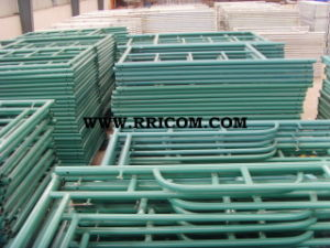 Powder Coated Flip Lock Steel Scaffold Frames for 6′4′′x5′ pictures & photos