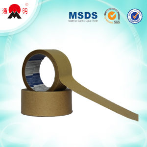 Strong Water Base Adhesive Kraft Paper Tape pictures & photos