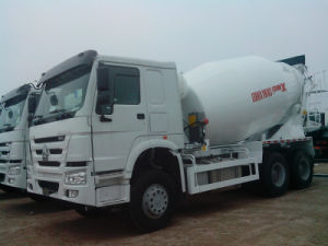 HOWO Concrete Mixer Truck 8m3 (ZZ1257N3241) pictures & photos