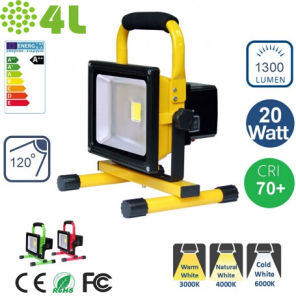 Rechargeable 30W LED Flood Light with Charger