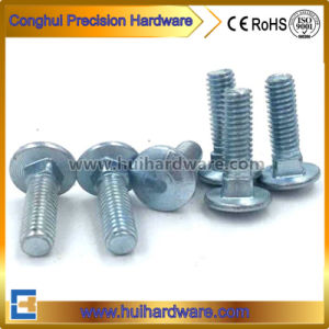 Carbon Steel Grade 4.8/6.8/8.8/10.9 Galvanized Carriage Bolts pictures & photos