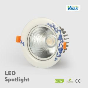 COB Ceramic 7W 650lm Paint Beige LED Flush Mount Ceramicceiling Light pictures & photos