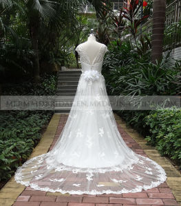 A-Line Sweetheart Ivory Lace Wedding Dress (M1312123)