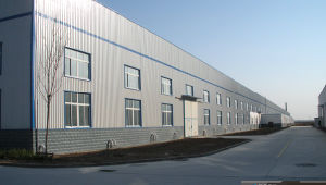 Cheap and Elegent Prefabricated Steel Frame Warehouse Building SL-0084 pictures & photos