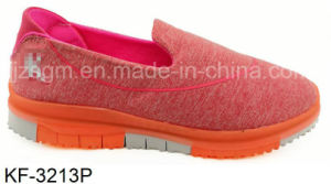 Simple Casual Flat Sports Shoes with EVA Sole pictures & photos