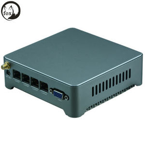 New J1900 Quad-Core 4 Ethernet Ports Firewall Mini Server, Router pictures & photos