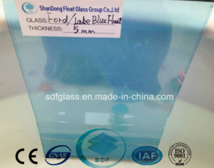 Lake Blue Float Glass with Ce, ISO (4 TO 10mm) pictures & photos