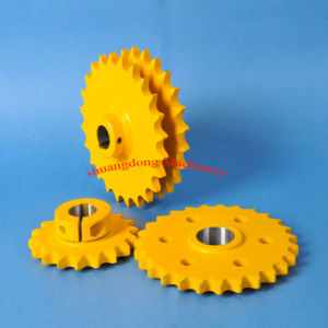 Chain Sprockets with Spray Paint