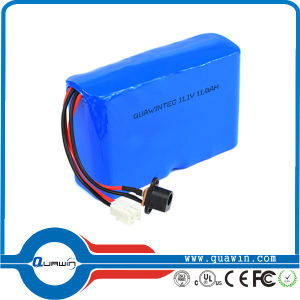 11.1V 11000mAh 3s5p 18650 Lithium Battery Pack pictures & photos