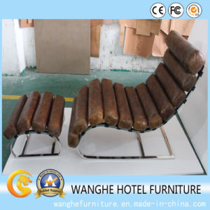 Modern Hotel Furniture Counter Leather Chaise Lounge for Outdoor pictures & photos