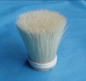 Bleached White Bristle 90% Tops for Brush Manufacturing