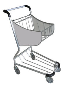 Airport Duty Free Shop Cart, Airport Shopping Trolley pictures & photos