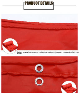 Wear-Resistant Anti-UV PVC Kinfe-Coated Container Tarp/Tarpaulin pictures & photos