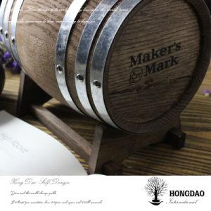 Hongdao Custom Made Wooden Wine Barrel _D pictures & photos