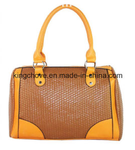 Good Quality and Fashion PU Ladies Handbag (KCH208) pictures & photos