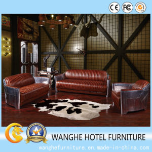 Quality PU Leather Modern Conference Living Room Chairs with Medium Back pictures & photos