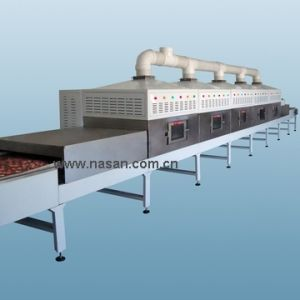 Nasan Nt Model Tunnel Microwave Dryer