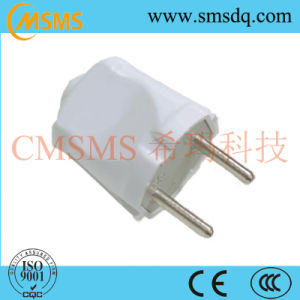 European Style Electrical 2 Pin Power Plug-SMS4104 pictures & photos