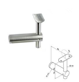 Balustrade Fitting / Detachable Glass Bracket for Stainless Steel Railing pictures & photos