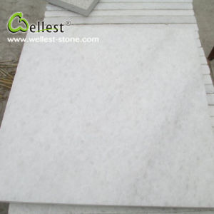 Natural Stone Crystal White Pure White Marble for Floor/Wall/Tile/Cladding pictures & photos