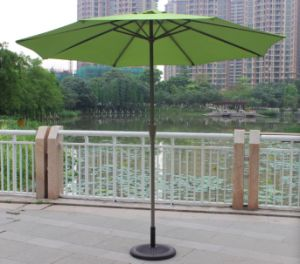2.5m Aluminum Shaft Beach Advertising Umbrella for Outdoor (MP6016) pictures & photos