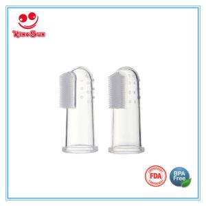 Liquid Silicone Finger Toothbrush Massage pictures & photos