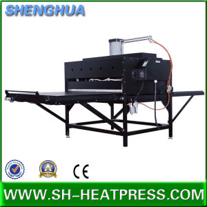 Cheap Manual Big Size Heat Transfer Machine pictures & photos