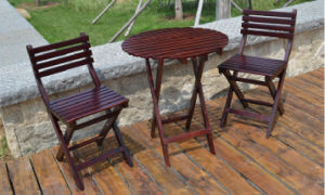 Outdoor Coffee Table and Chairs Folded Table and Chairs Garden Set (M-X1052) pictures & photos
