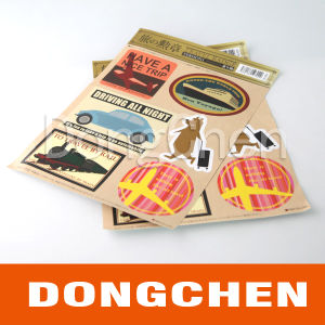 Custom Outdoor Used Waterproof Sticker for Advertising in Japan pictures & photos