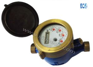 Multi Jet Liquid Sealed Water Meter with Protected Rolls pictures & photos