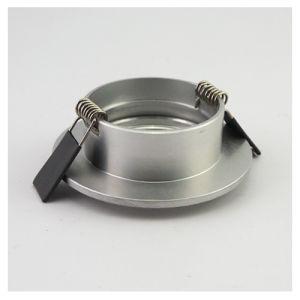 Lathe Aluminum GU10 MR16 Round Fixed Recessed LED Downlight (LT2104) pictures & photos