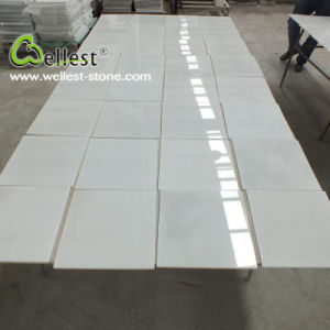 China Natural Pure White Marble Floor pictures & photos