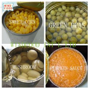 Vegetables Canned Food
