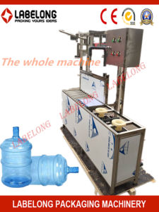 Semi-Automatic 5 Gallon Water Filling Machine for Small Factory pictures & photos