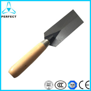 Wooden Handle Bricklaying Trowel for Construction pictures & photos