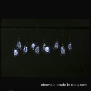 10LED Solar Lantern String Lights (RS1014) pictures & photos