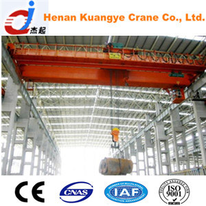 QN Type 5/5~16/16t Two Purpose Bridge/Overhead Crane with Grab and Hook