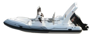 Aqualand 21feet 6.5m Rigid Inflatable Fishing Boat/Rib Motor Boat (rib650c) pictures & photos