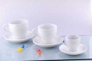 Porcelain Tulip Coffee Cups (CZJM2099)