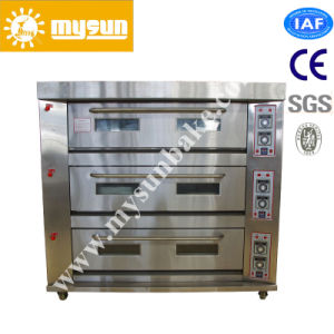 Bakery Usage 3 Decks and 9 Trays Electric Bread/Cake Deck Baking Oven pictures & photos