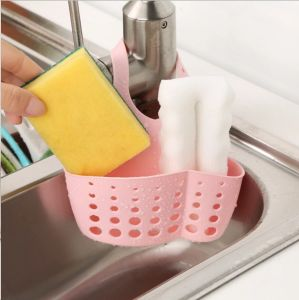 Single Layer Kitchen Hanging Drain Bag Basket Bath Storage Tools Sink Holder, Sifter Wash Plastic Basket pictures & photos