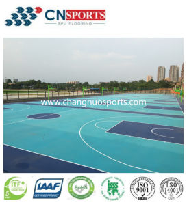 Professional Cheap PU Basketball Court Flooring for Gym/Fitness/Sports pictures & photos