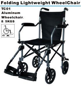 Folding Lightweight Aluminum Wheelchair