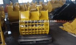 24 Ton Shaker Bucket Skeleton Bucket Sieve Bucket for Excavator pictures & photos